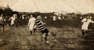 Vor 1900: Germania-Spielszene