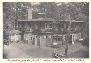 AK-Ahlbeck-Sonnendorf-Haushaltungsschule-Quelle-Aussenansicht