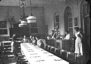 Arbeiterinnenheim Speisesaal