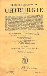 AB Festschrift 1931